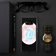 Cotton Candy Unicorn Samsung Case - Hebkid Art
