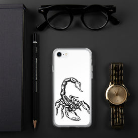 Scorpion iPhone Case - Hebkid Art