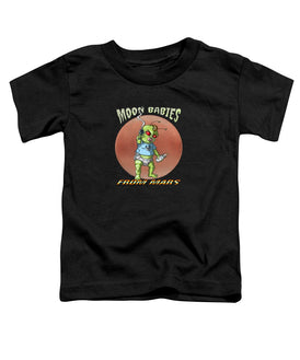Moon Babies From Mars - Toddler T-Shirt - Hebkid Art