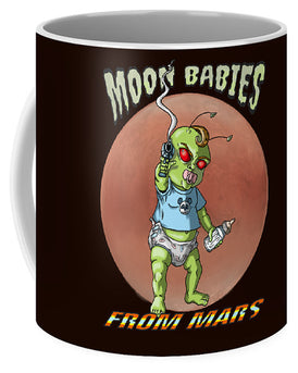 Moon Babies From Mars - Mug - Hebkid Art