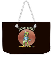 Moon Babies From Mars - Weekender Tote Bag - Hebkid Art