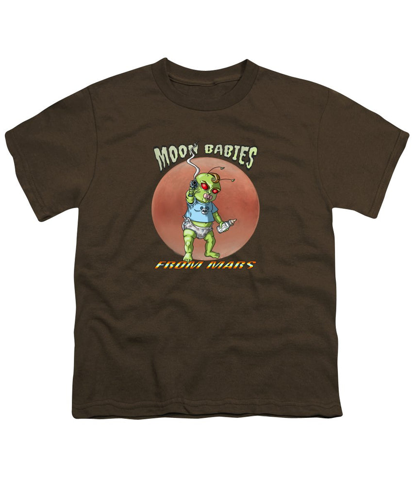 Moon Babies From Mars - Youth T-Shirt - Hebkid Art