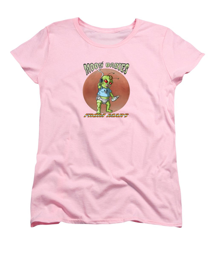 Moon Babies From Mars - Women's T-Shirt (Standard Fit) - Hebkid Art