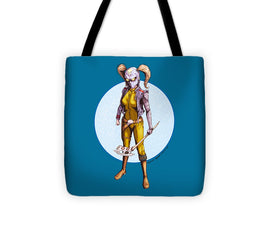Psycho Hockey Vampire Pirate - Tote Bag - Hebkid Art