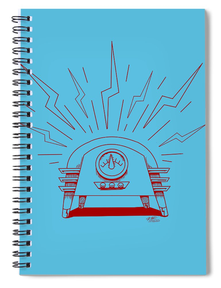 Radio Cure - Spiral Notebook - Hebkid Art