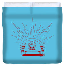Radio Cure - Duvet Cover - Hebkid Art
