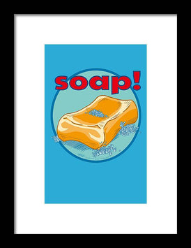 Soap - Framed Print - Hebkid Art
