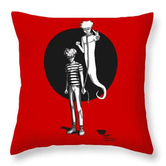 Soul Leash - Throw Pillow - Hebkid Art