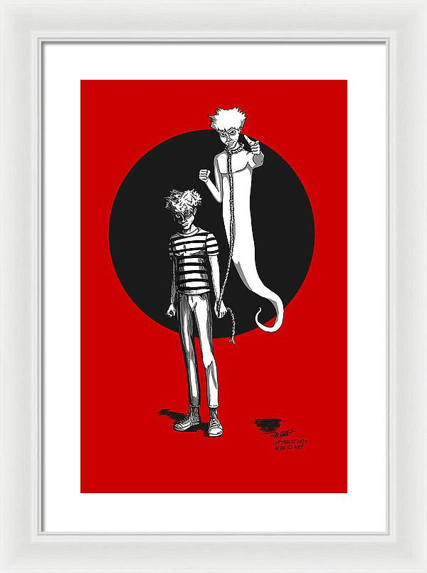 Soul Leash - Framed Print - Hebkid Art