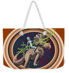 The Rings Of Saturn - Weekender Tote Bag - Hebkid Art