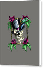 Voodoo King - Canvas Print - Hebkid Art