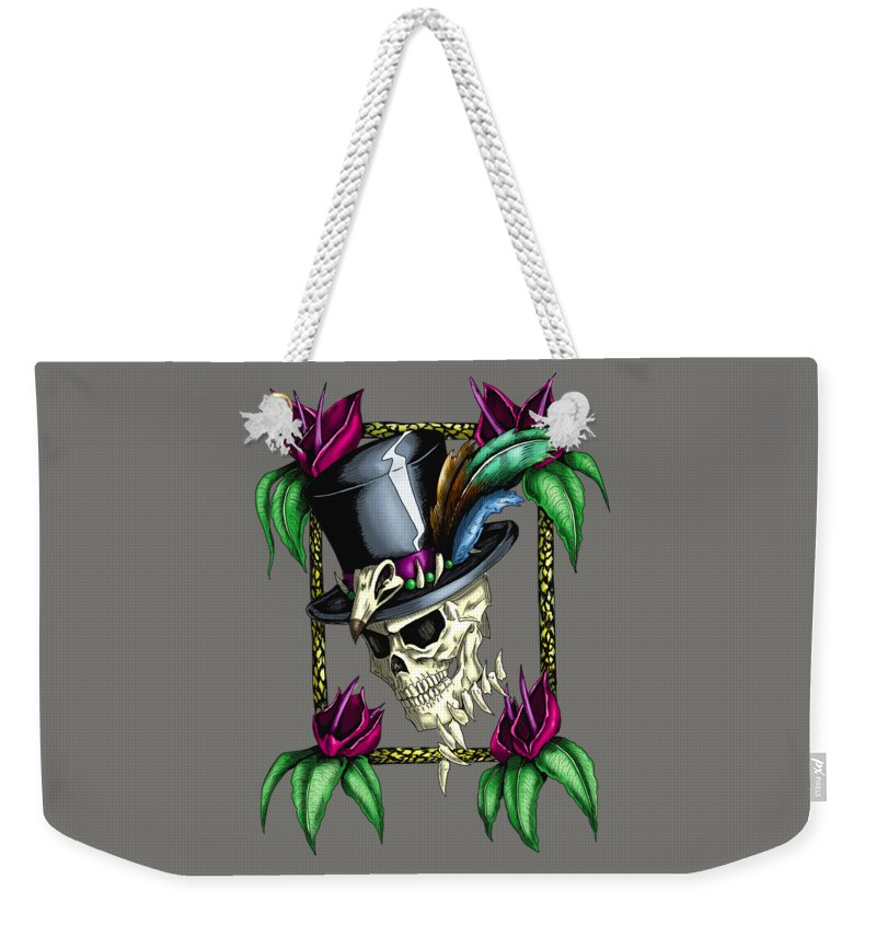 Voodoo King - Weekender Tote Bag - Hebkid Art