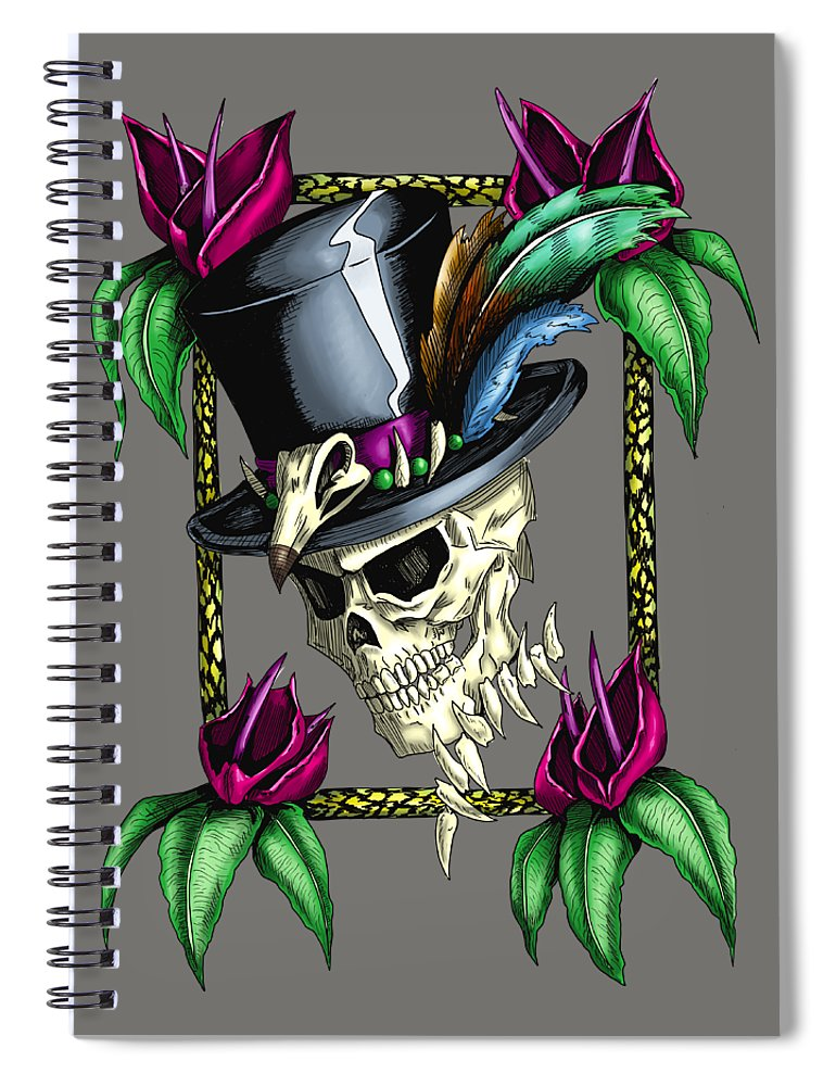 Voodoo King - Spiral Notebook