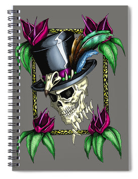 Voodoo King - Spiral Notebook - Hebkid Art