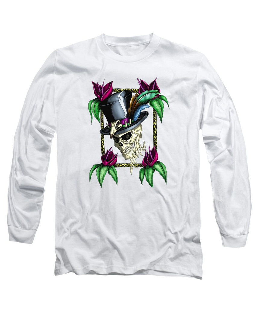 Voodoo King - Long Sleeve T-Shirt - Hebkid Art