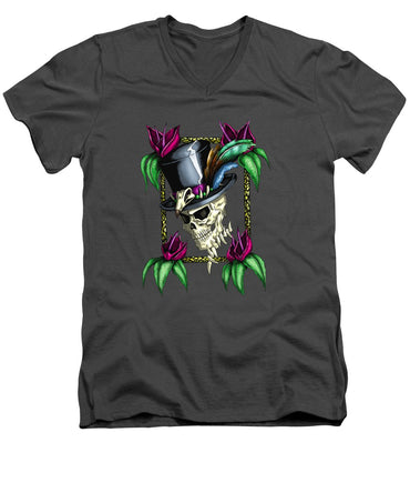 Voodoo King - Men's V-Neck T-Shirt