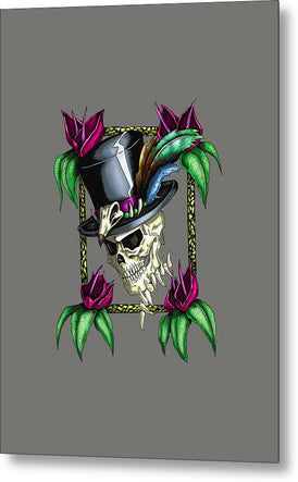 Voodoo King - Metal Print