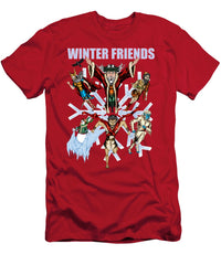 Winter Friends - T-Shirt - Hebkid Art