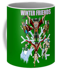 Winter Friends - Mug - Hebkid Art