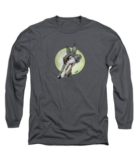 Wolf Moon - Long Sleeve T-Shirt - Hebkid Art
