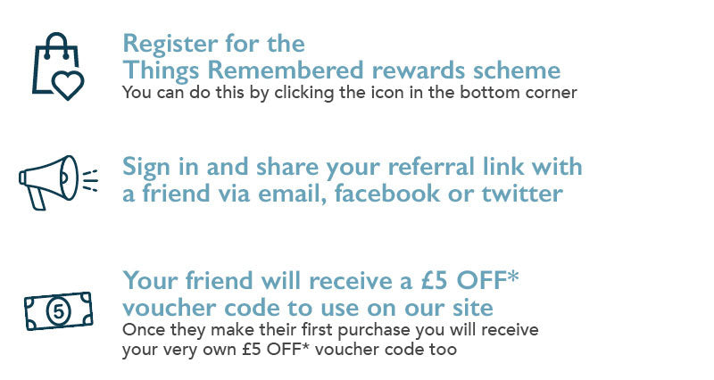 How the Things Remembered Referral scheme works