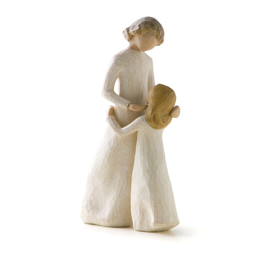 Mother and Daughter Figurine by Willow Tree
