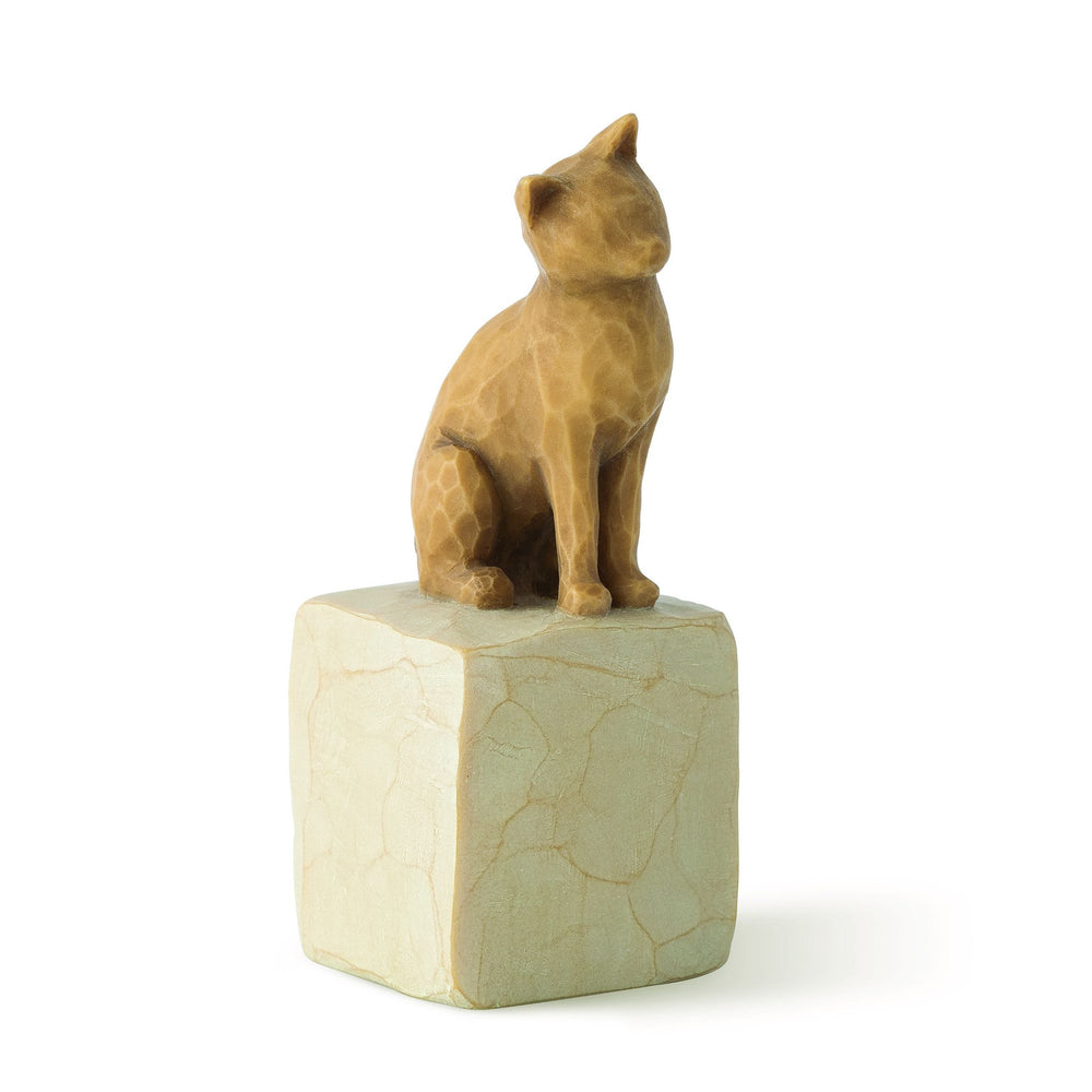 Love my Cat (light) Figurine by Willow Tree