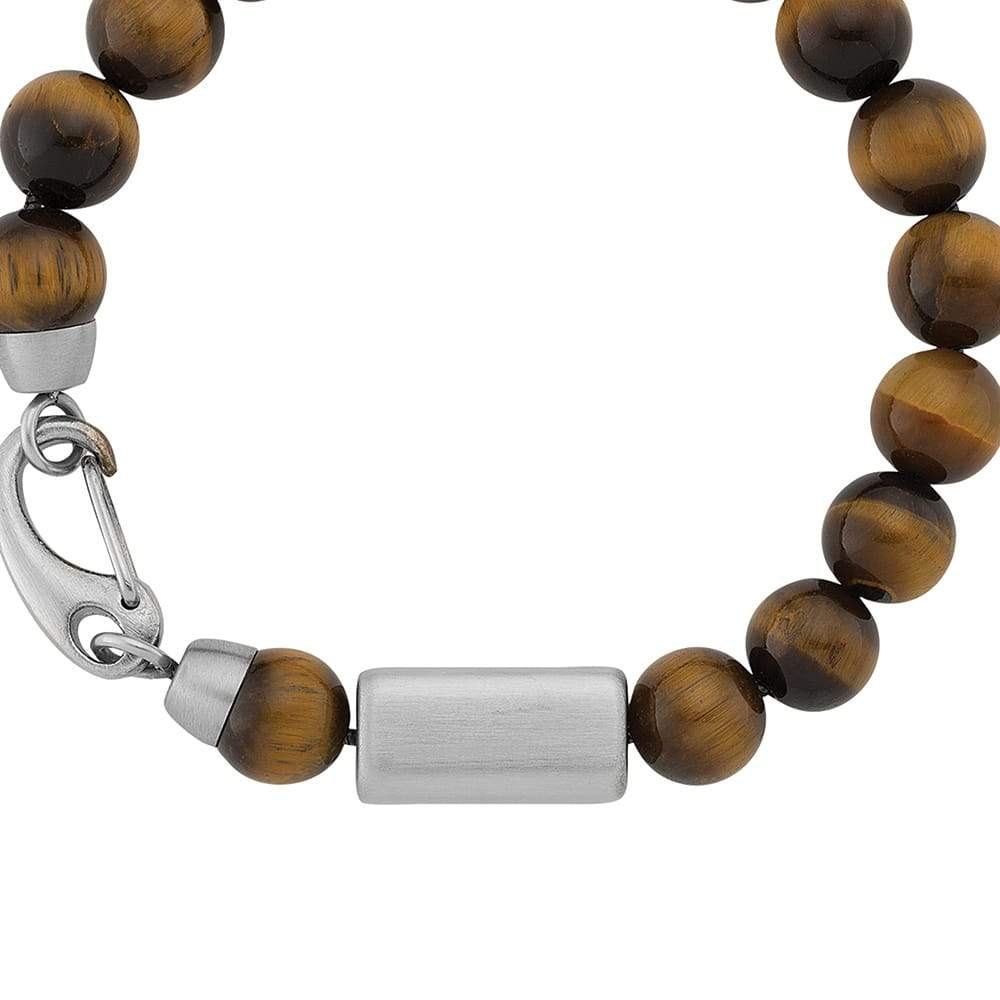 Mens Tigers Eye Beaded Bracelet PRE-ORDER