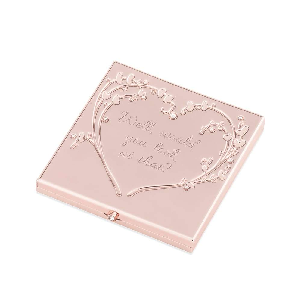 Rose Gold Heart and Vines Compact PRE-ORDER