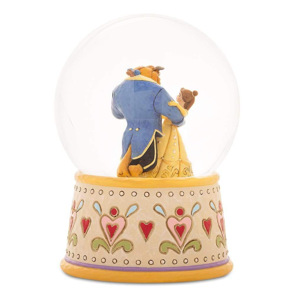 Beauty and the Beast Waterball - Disney Traditions by Jim Shore
