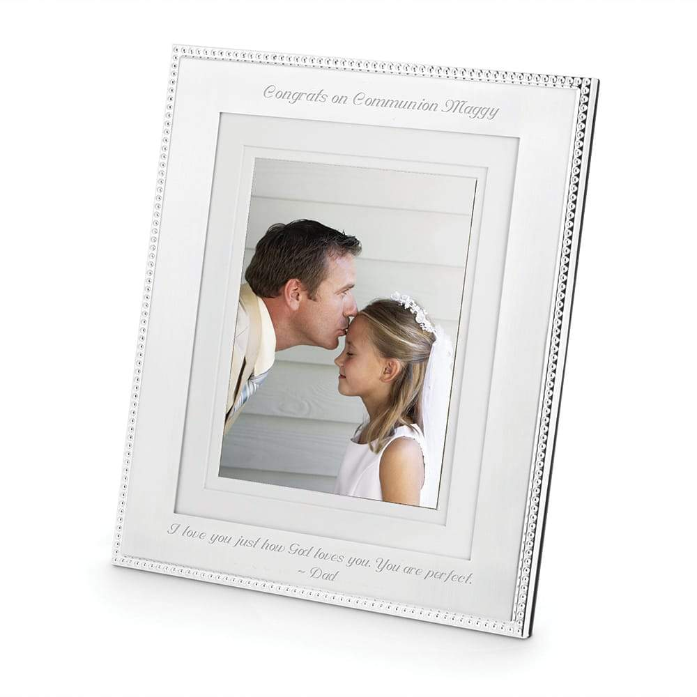 Silver Beaded Frame 8 x 10 PRE-ORDER