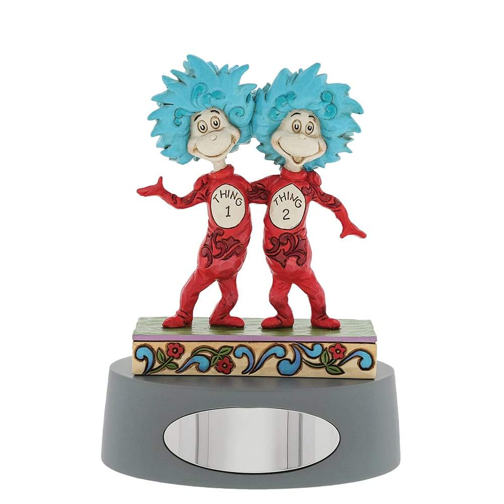Thing 1 and Thing 2 Figurine - Dr. Seuss by Jim Shore
