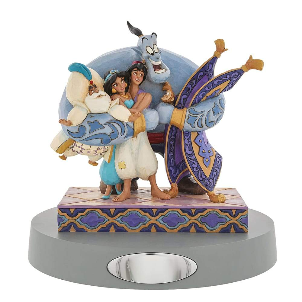 Group Hug! - Aladdin Figurine - Disney Traditions by Jim Shore