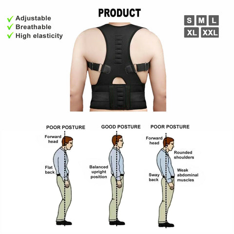 shoulder brace for posture