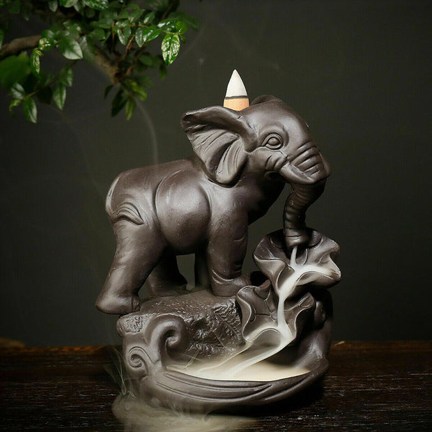 Elephant Incense Burner