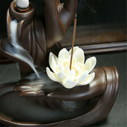 Incense Hand Lotus Burner
