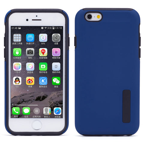 Hybrid Case Dual Layer Armor Defender Cover - Dropproof - Blue - Selna N80