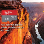 Sandisk 400GB High Speed MicroSDHC Memory Card - Class 10