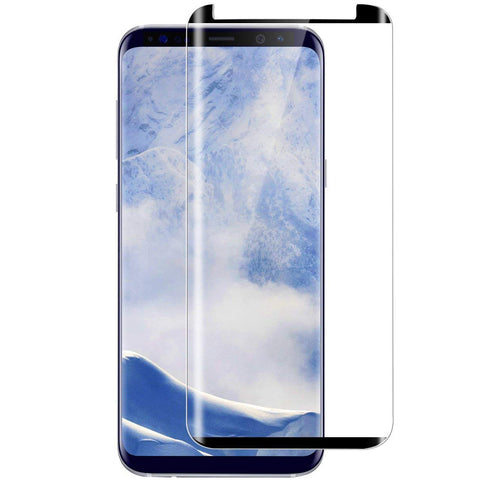 Samsung Galaxy S9 Plus - Anti-glare Screen Protector Tempered Glass - Full Cover - Fingerprint Resistant