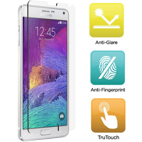 Samsung Galaxy Note 4 - Anti-glare Screen Protector Silicone TPU Film - Full Cover