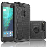 Hybrid Case Dual Layer Armor Defender Cover - Dropproof - Black - Selna M26