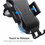 Car Mount for Air Vent - Wireless Charger Holder - Automatic Sensor - Fonus V08