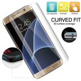 Samsung Galaxy S7 - Anti-glare Screen Protector Silicone TPU Film - Curved - Full Cover