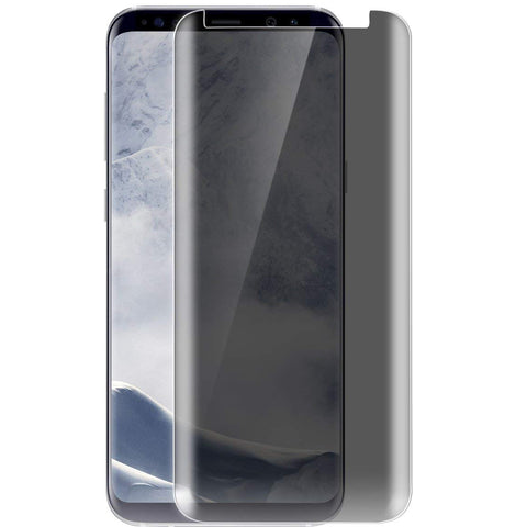Samsung Galaxy S9 Plus - Privacy Screen Protector - Tempered Glass - 3D Full Cover