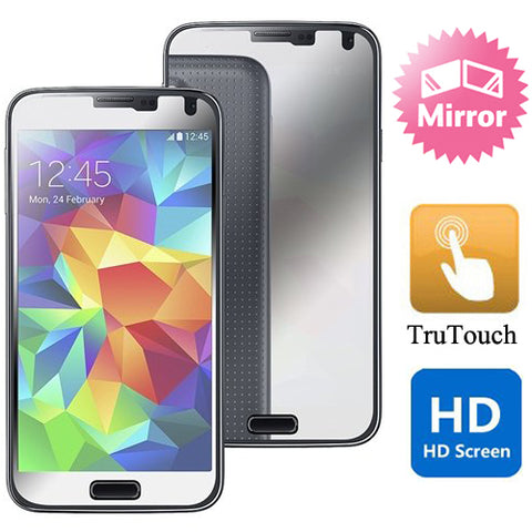Samsung Galaxy S5 - Mirror Screen Protector Silicone TPU Film - Full Cover