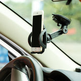 Car Mount Phone Holder for Dash and Windshield - Fonus D50