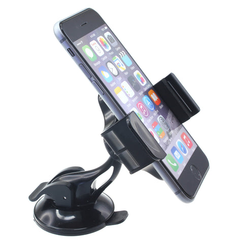 Car Mount Holder for Windshield - Compact - Fonus J02