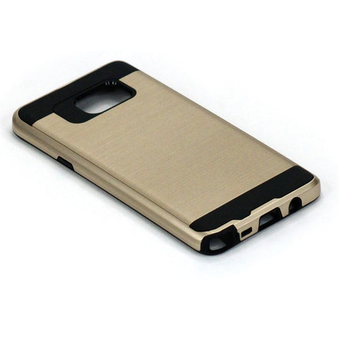 Hybrid Case Dual Layer Armor Defender Cover - Dropproof - Gold - Selna N36