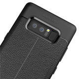 Ultra Slim TPU Leather Case Cover - Shock Absorbent - Black - Fonus L24