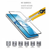 Samsung Galaxy S10e - Tempered Glass Screen Protector - Full Cover Curved - Fingerprint Unlock